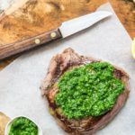 steak with gremolata